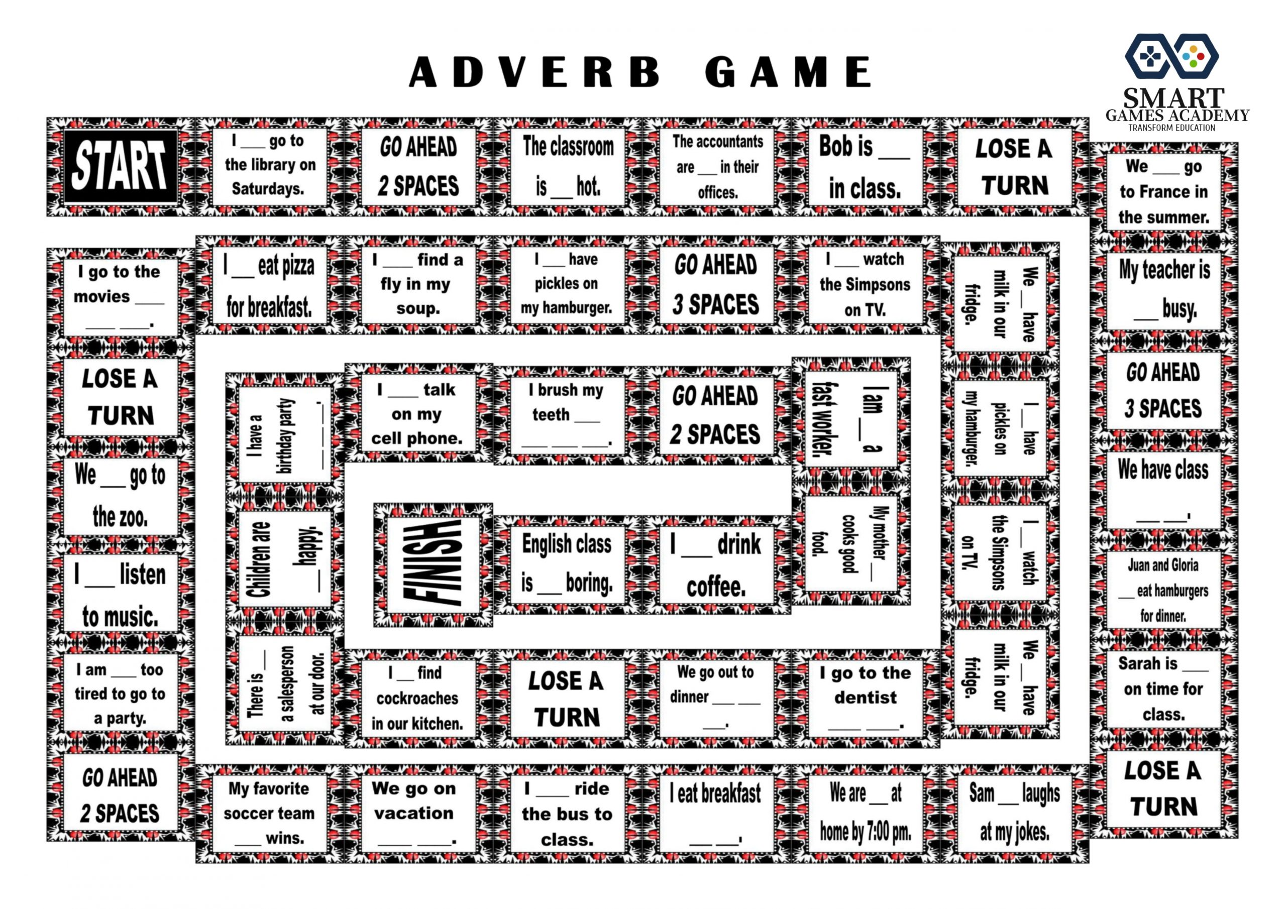 adverb game