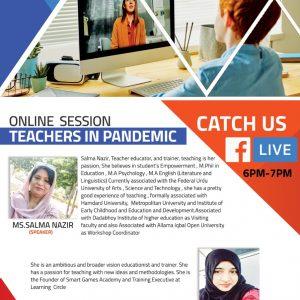 teaches in panademin